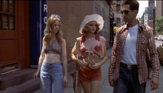 "The girl with whom Martin Scorsese studied in order to prepare for the role of ""Iris"" also appears in the film, as Iris' friend on the street."