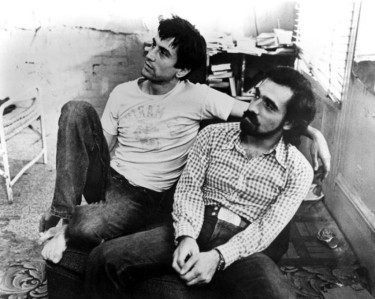 "Robert De Niro and Martin Scorsese on the set of ""Taxi Driver""; Behind The Scenes Photos from ""Taxi Driver"" (1976) Taken by Steve Schapiro; Robert De Niro and Martin Scorsese on the set of ""Taxi Driver""; Behind The Scenes Photos from ""Taxi Driver"" (1976) Taken by Steve Schapiro;"