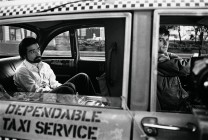 "Martin Scorsese and Robert De Niro during shooting of ""Taxi Driver."" Photography by Steve Schapiro."