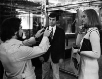 Martin Scorsese Directing Robert De Niro and Cybill Shepherd in Taxi Driver.