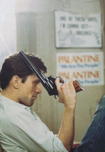 Steve Schapiro was the special photographer on the set of Taxi Driver, capturing the film's most intense and violent moments from behind the scenes.