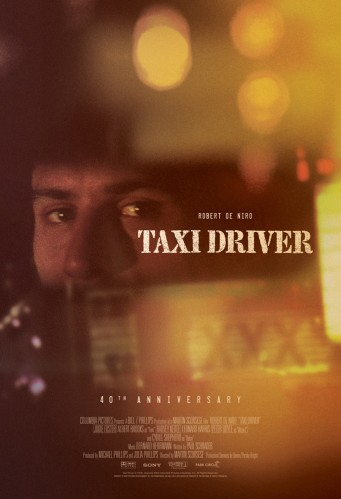 Park Circus, the U.K.-based classic film distributor which represents Martin Scorsese's post-Vietnam drama internationally, unveiled the one-sheet, ahead of its 40th anniversary re-release in 2016. Photo: 'Taxi Driver's 40th anniversary poster.