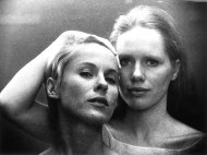 Bibi Andersson and Liv Ullman in Persona (1966) with Directed by Ingmar Bergman.