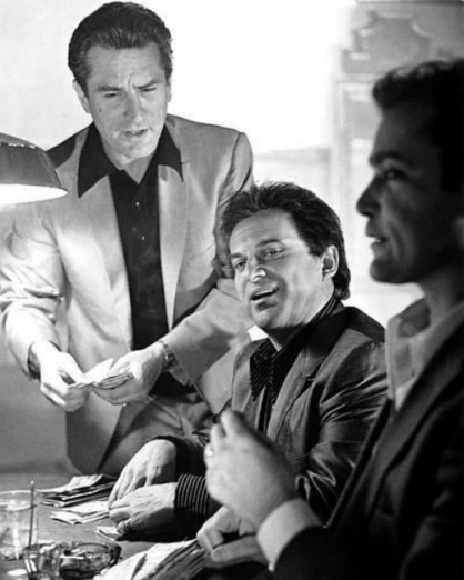 Robert De Niro, Joe Pesci and Ray Liotta in Martin Scorsese's Gangster Epic: GOODFELLAS (1990)