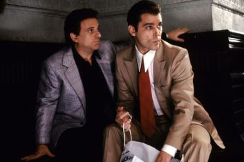 "After Joe Pesci's mother saw the film, she told her son that the movie was good, then asked him if he had to curse so much. The word ""fuck"" and its other tenses are used 321 times, for an average of 2.04 per minute. About half of them are said by Joe Pesci. At the time of the films' release, this was the most profanity of any movie in history. It is currently the twelfth most f-bomb laden film ever released. The script only called for the word to be used seventy times, but much of the dialogue was improvised during shooting, where the expletives piled up."