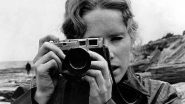 Liv Ullmann in Persona (1966) directed by Ingmar Bergman.