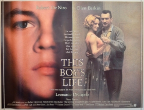 Robert De Niro as Dwight Hansen, Leonardo DiCaprio as Tobias 'Toby' Wolff & Ellen Barkin as Caroline Wolff Hansen– This Boy's Life (1993)