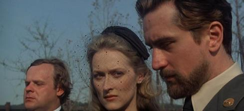 """Meryl Streep as """"Linda."""" This was arguably the breakthrough she had needed. Prior to The Deer Hunter, Streep was seen briefly in Fred Zinnemann's Julia (1977) and the eight-hour miniseries Holocaust (1978)."""