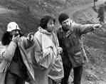 Robert De Niro & Michael Cimino on the set of The Deer Hunter (1978)