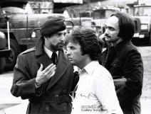 Robert De Niro, John Cazale & Michael Cimino on the set of The Deer Hunter (1978)