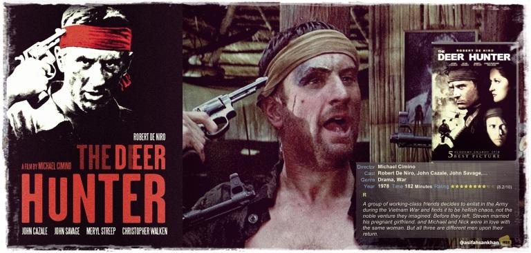 THE DEER HUNTER - ROBERT DE NIRO - MICHAEL CIMINO - Image Courtesy of Asif Ahsan Khan