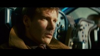 "Harrison Ford, with his Star Wars cachet, was Blade Runner's top-line draw, but his role as ""Deckard"" may or may not be as gripped by uncertainty about his job as the novelist Philip K Dick's thoughtful original 'Blade Runner. In any case, his brusque ""lack of affect"" provides one of the long-standing puzzles of the film: is he, too, a replicant? Certainly Ford's perpetual grumpiness (it sometimes seems his default acting position), his curdled cynicism, put up barriers to feeling that suggest it is as disturbing for him as it is for the hunted Leon or Roy."