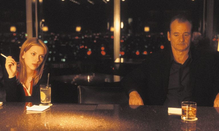 Sofia Coppola's Lost in Translation (2003), starring Bill Murray and Scarlett Johansson, came in at 22 on the list. Photograph: Imagenet