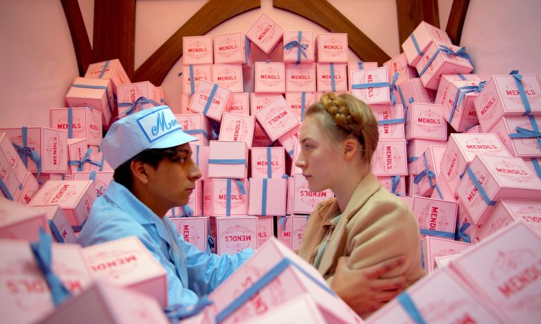 The Grand Budapest Hotel – one of three Wes Anderson films featured on the list – reached 21. Photograph: Rex Features