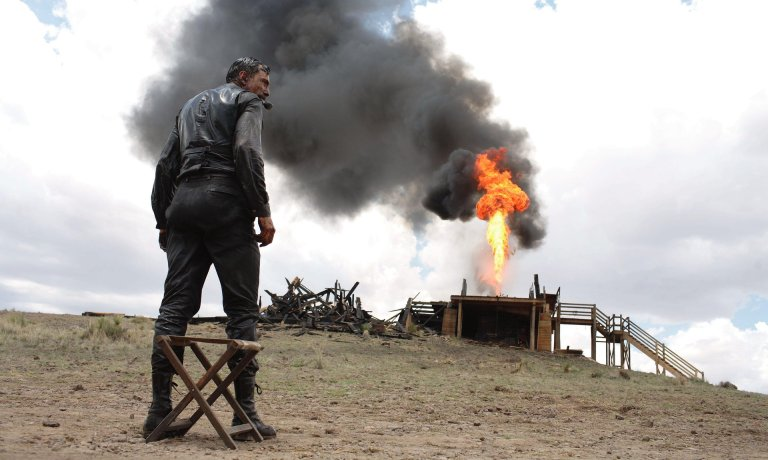 Paul Thomas Anderson's There Will Be Blood, starring Daniel Day-Lewis, reached 3 on the list. Photograph: PA