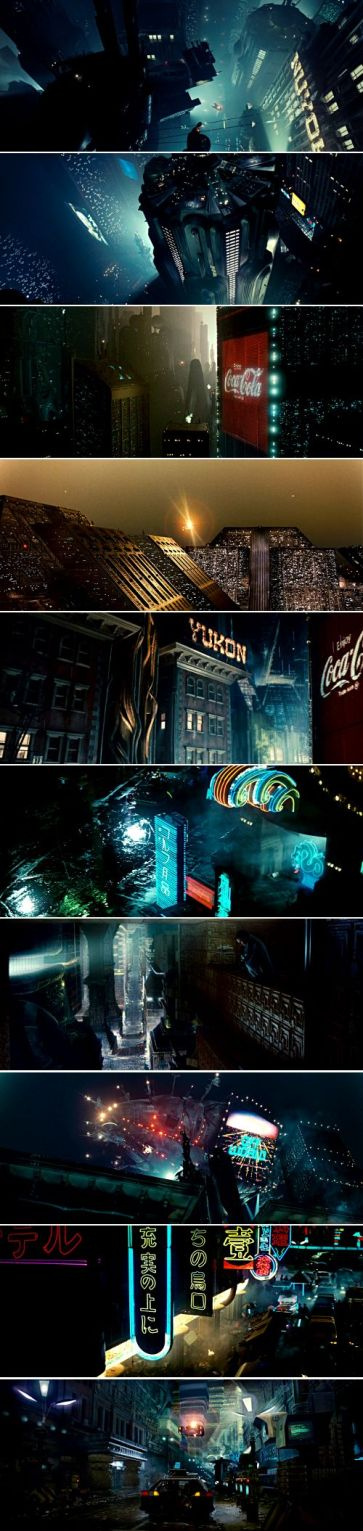 Blade Runner (1982) - Photo Grid - @asifahsankhan
