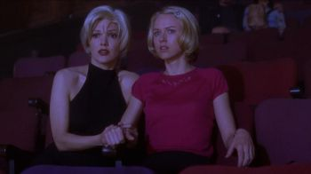 "Laura Harring and Melissa George in David Lynch's ""Mulholland Drive"", the top film of the 21st century according to BBC Culture's new poll. Photograph: Universal Pictures"