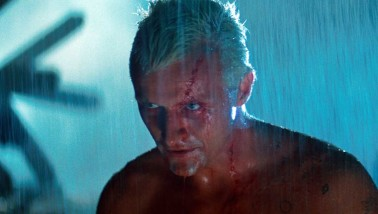 In the film, the dying replicant Roy Batty makes this speech to Harrison Ford's character Deckard moments after saving him from falling off a tall building. Deckard had been tasked to kill him and his replicant friends. The words are spoken during a downpour, moments before Batty's death: I've seen things you people wouldn't believe. Attack ships on fire off the shoulder of Orion. I watched C-beams glitter in the dark near the Tannhäuser Gate. All those moments will be lost in time, like tears in rain. Time to die.