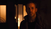 Ryan Gosling appears in a scene from the teaser trailer for the upcoming Blade Runner 2049