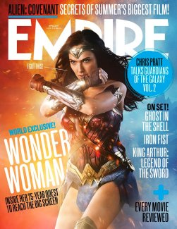 Gal Gadot on the Cover of Empire Magazine, April 2017