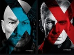 Sir Patrick Stewart and James McAvoy as Older and Younger versions of Charles Xavier / Professor X and Sir Ian McKellen and Michael Fassbender as Older and Younger versions of Erik Lehnsherr / Magneto in - X-Men Film Series