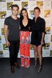 Connie Nielsen, Chris Pine, and Gal Gadot at Comic-Con 2016 Event for Wonder Woman (2017)