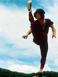 Chan Kong-sang, better known as the martial arts superstar Jackie Chan, started his career as a stuntman in the films of the legendary Bruce Lee and now has has over 100 acting credits to his name. The uncompromising film-maker has famously performed most of his own spectacular stunts, injuring almost every part of his body in the process.