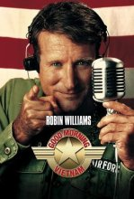 "Robin Williams as ""Adrian Cronauer"" in Good Morning, Vietnam (1987)"