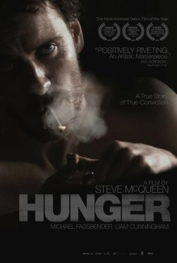Hunger follows life in the Maze Prison, Northern Ireland with an interpretation of the highly emotive events surrounding the 1981 IRA Hunger Strike, led by Bobby Sands. With an epic eye for detail, the film provides a timely exploration of what happens when body and mind are pushed to the uttermost limit.
