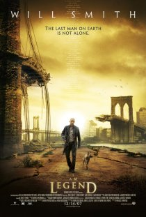 I An Legend (2007 Film, USA) - Directed by Francis Lawrence; Starring Will Smith.
